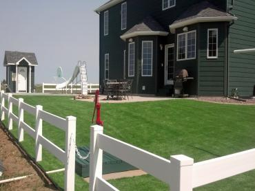 Artificial Grass Photos: Artificial Grass Installation Santo Domingo Pueblo, New Mexico, Front Yard Landscaping Ideas