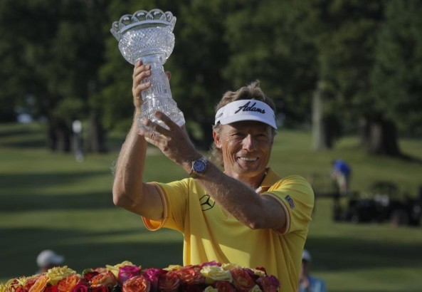 Bernhard Langer Triumph at Belmont. Magic Week. artificial grass