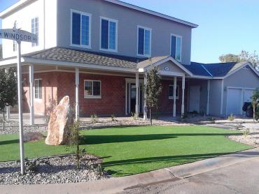 Artificial Grass Photos: Fake Grass Carpet Los Chaves, New Mexico Roof Top, Front Yard