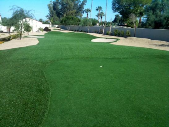 Artificial Grass Photos: Fake Lawn Hernandez, New Mexico Home Putting Green