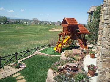 Artificial Grass Photos: Fake Turf El Cerro, New Mexico Paver Patio, Backyard Design