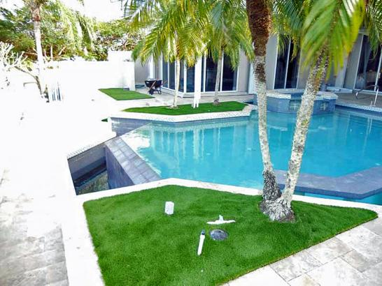 Artificial Grass Photos: Green Lawn Flora Vista, New Mexico Backyard Deck Ideas, Backyard Landscaping Ideas