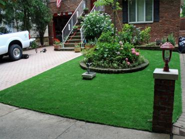Artificial Grass Photos: Green Lawn La Luz, New Mexico, Front Yard Landscaping Ideas