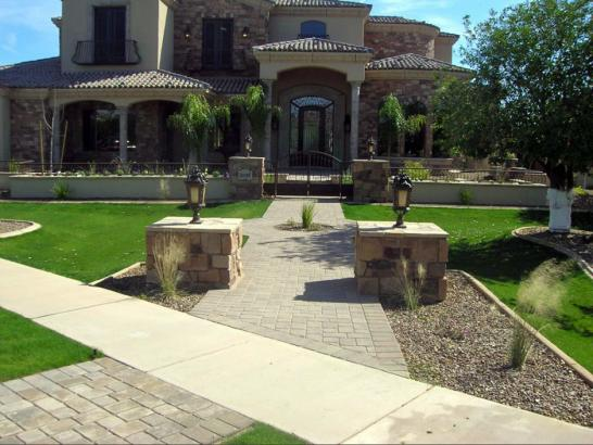 Artificial Grass Photos: Synthetic Grass Cost Cordova, New Mexico Lawn And Landscape, Front Yard Landscaping