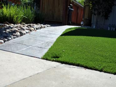 Artificial Grass Photos: Synthetic Lawn Zia Pueblo, New Mexico Landscape Design, Front Yard Landscaping Ideas