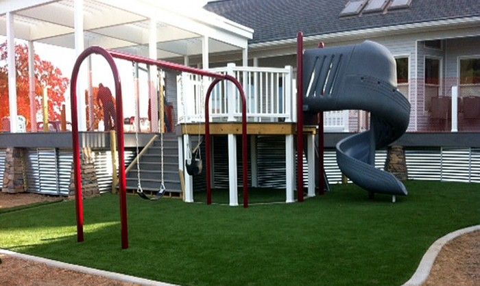 Artificial Grass for Playgrounds in Albuquerque, New Mexico